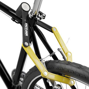 "1.3"" ABS Steel Bike Folding Lock with Mounting Bracket"