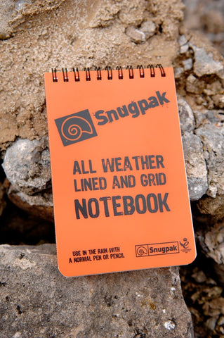 Snugpak - Water Resistant Notebook - AKE International