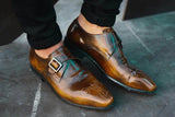 Alexander Single Monk Shoe - Brown