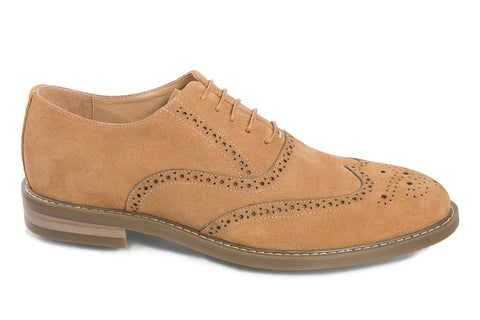 Desert Brogue - Beige - Jenet & Jones