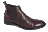 Benjamin Chelsea Boots - Dark Brown - Jenet & Jones