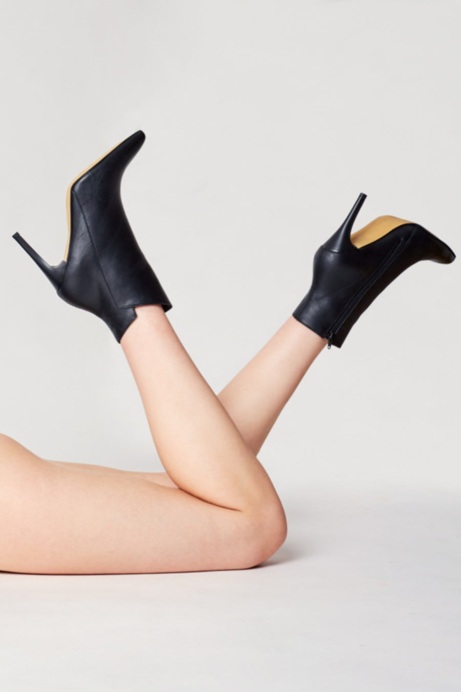 Radiance - leather booties - STIVALI