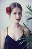 barrette-fleurs-red-shocking-fleur-rouge-soie-made-in-france