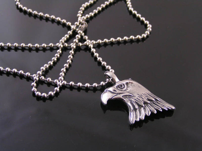 Eagle Head Necklace, Gift Idea