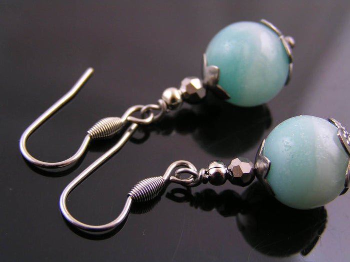 Amazonite Earringts