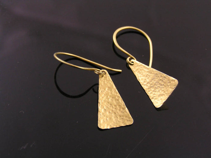 Handmade Triangle Earrings