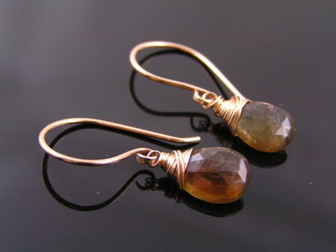 Andalusite Earrings