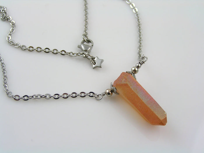 Mystic Quartz Necklace