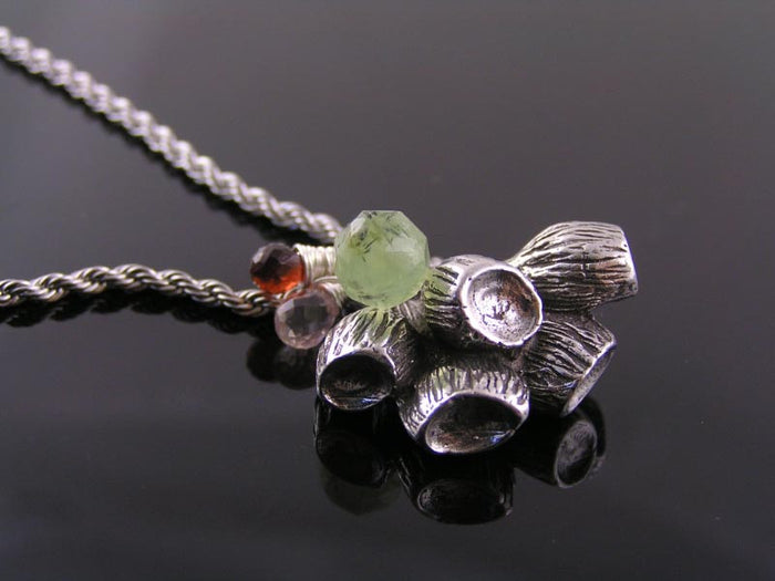 Gumnut Necklace with Australian Gemstones