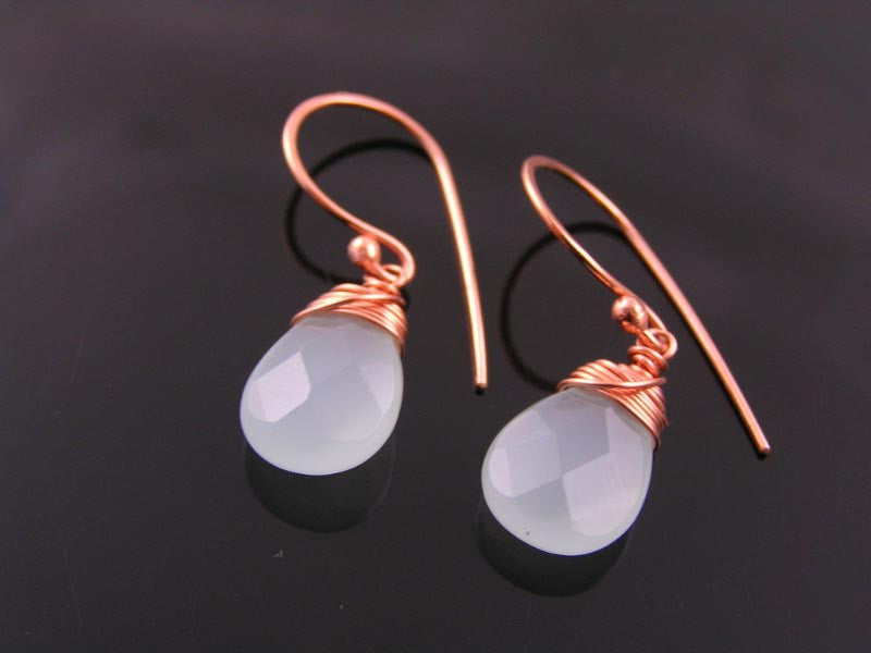 Pale Amazonite Earrings