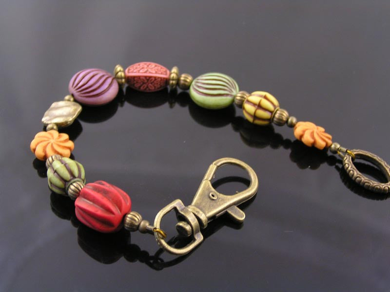 Colourful Acrylic Bead Bracelet
