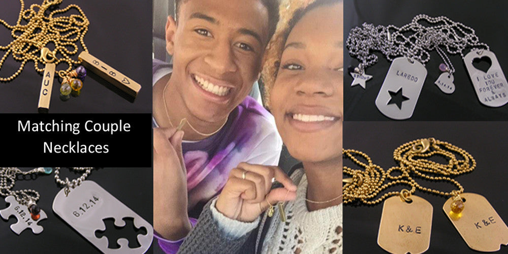 Matching Couple Necklaces