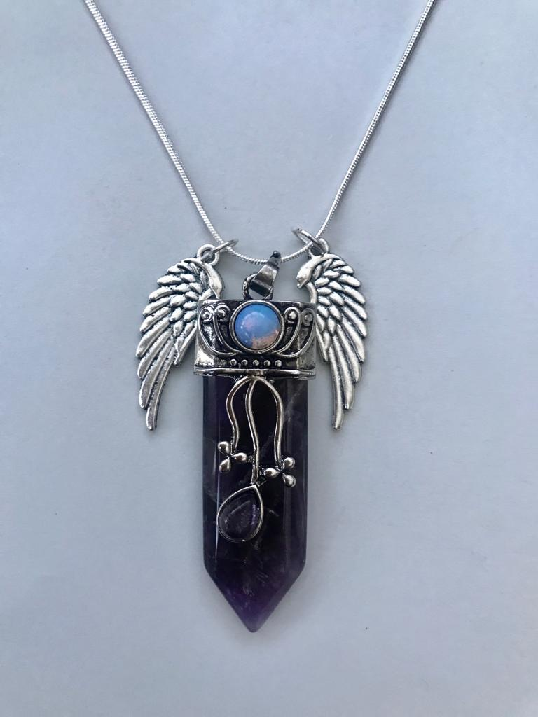 Amethyst & Opalite Necklace