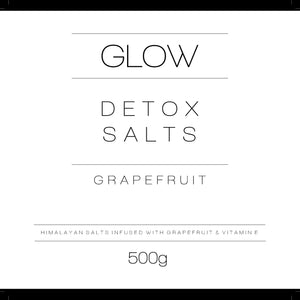 Detox Salts - Grapefruit & Vitamin E