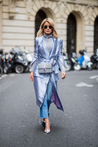 Gitta Bank at the Paris Fashion Week