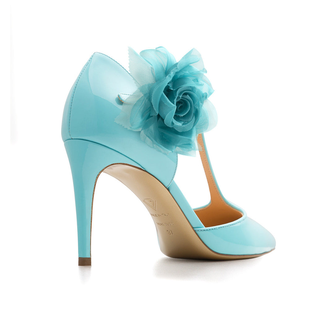 New Tango Blu Cielo with Cielo Flowers