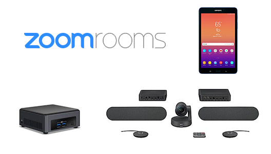 Zoom Rooms Kit with Intel NUC i7, Logitech Rally Plus, & Samsung Galaxy  Tablet
