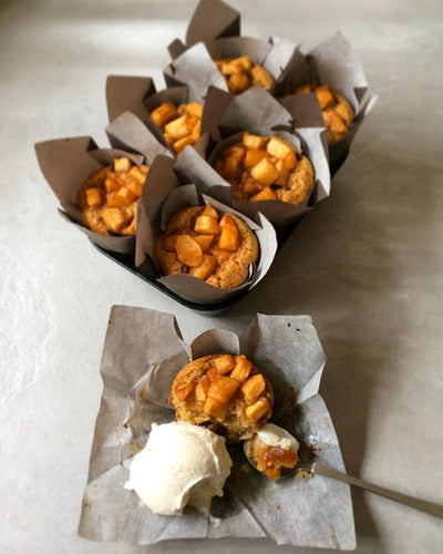 Maple and Brown Butter Apple Muffins
