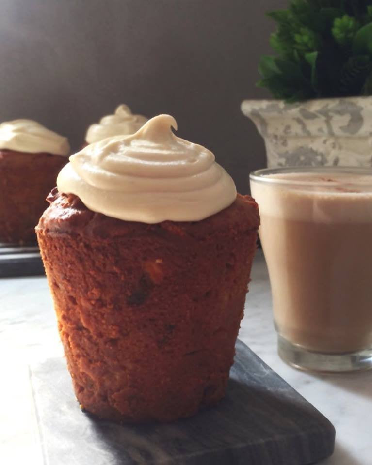Stiletto High Carrot Cake Muffins
