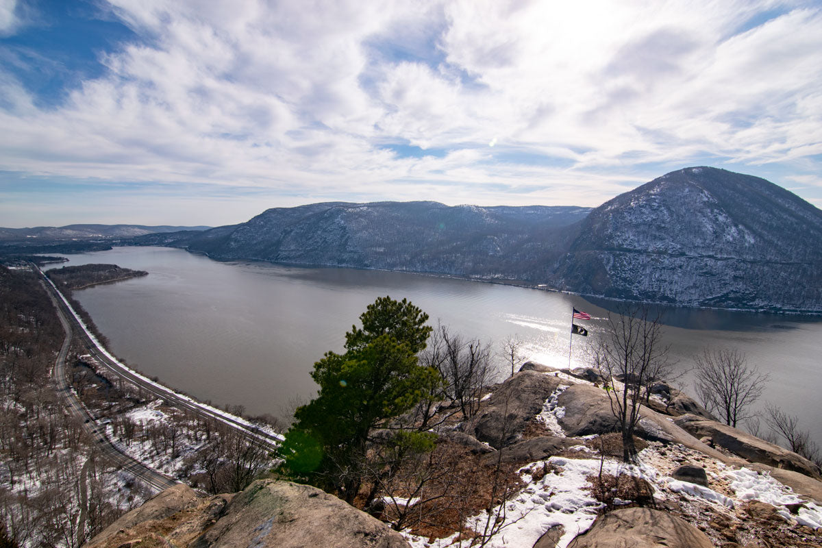Breakneck Ridge View from first vista