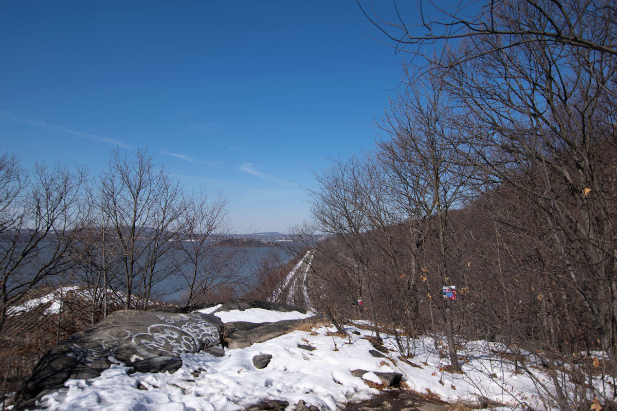 Woolx Hikes Breakneck Ridge in NY