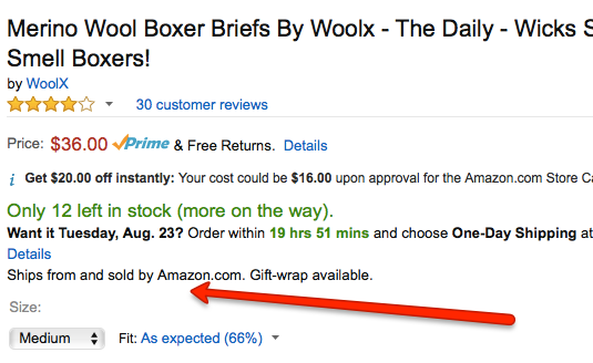 Woolx Sold By Amazon