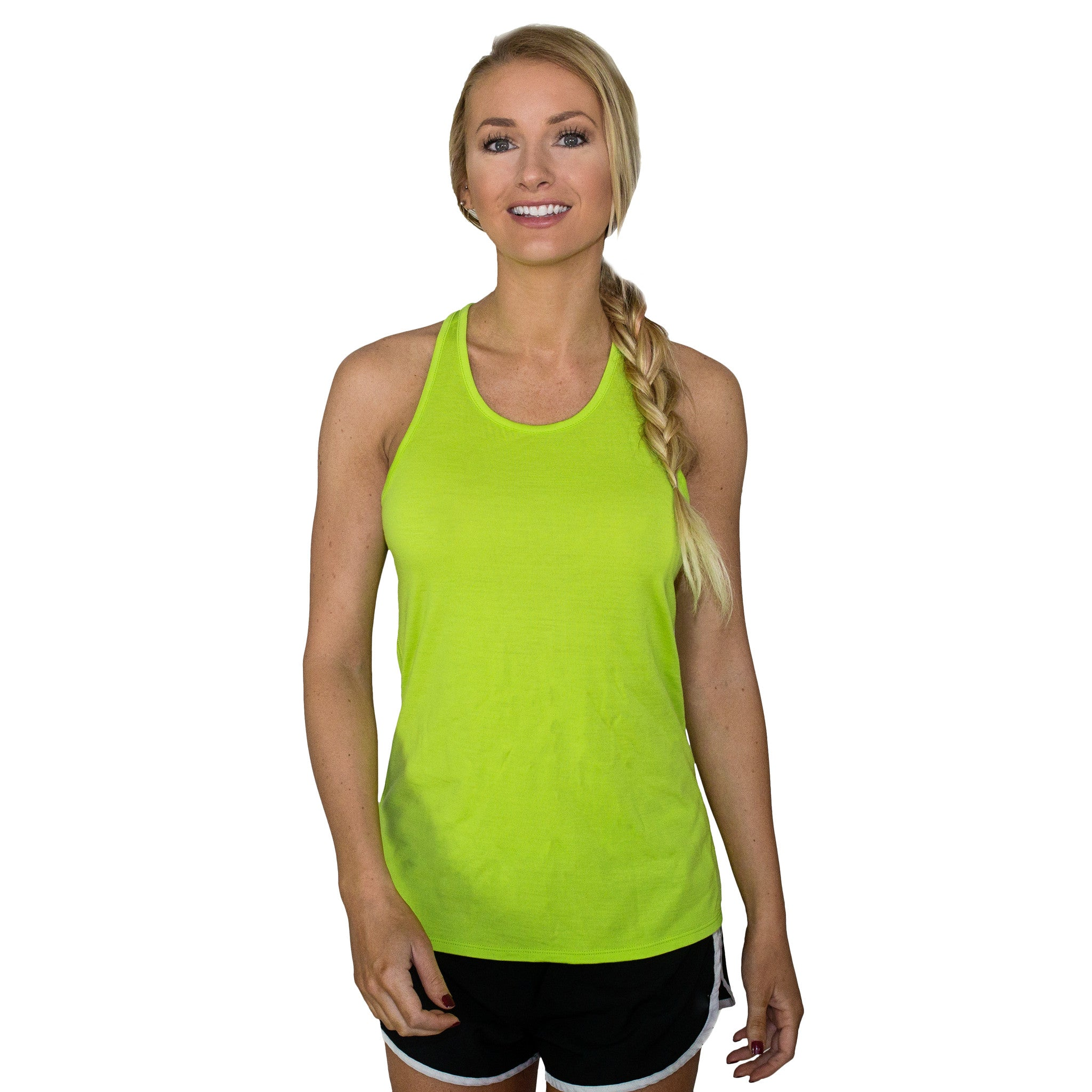 db844e6b5ce5f Womens Merino Wool Athletic Tank Top - The Bella - Free Shipping