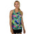 Ivy Racerback Tank Top - Graffiti Splash