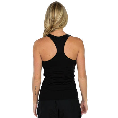 Woolx Ella Racer Back - Black