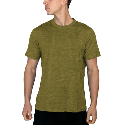 Men's Outback Short Sleeve Tee - Moss Heather