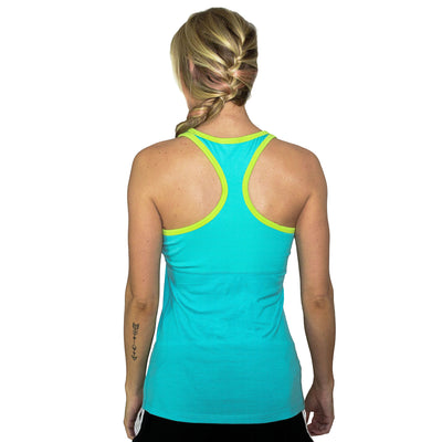 Work Out Tank Top For Women - Paradise Citrus
