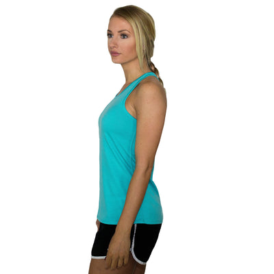 Womens Work Out Top - Paradise Black