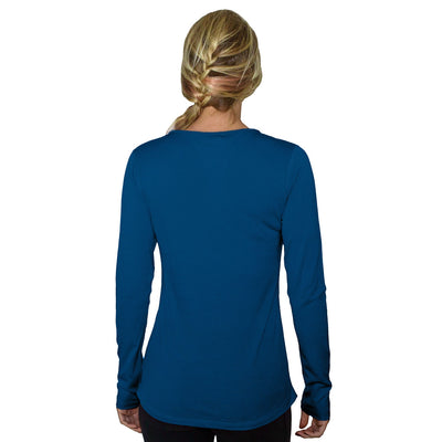 Women's Remi Long Sleeve T-Shirt - Electric Blue