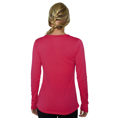 Women's Remi Long Sleeve T-Shirt - Flamingo