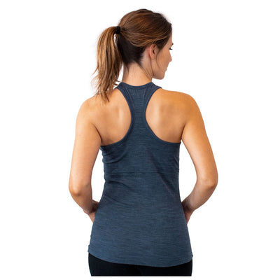 Women's Kinsley Racerback Tank - Denim Heather
