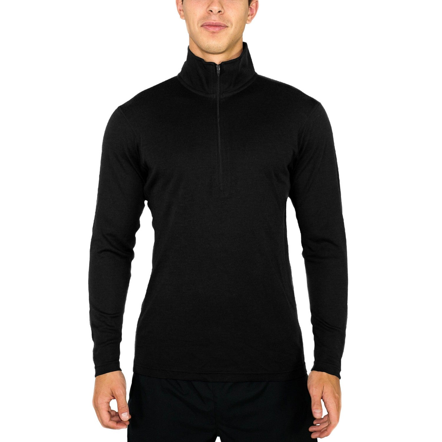 Men's Explorer 1/4 Zip - Black