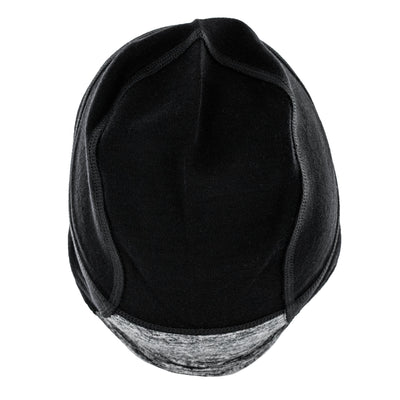 Lexie Merino Wool Fearless Hat - Black Melange