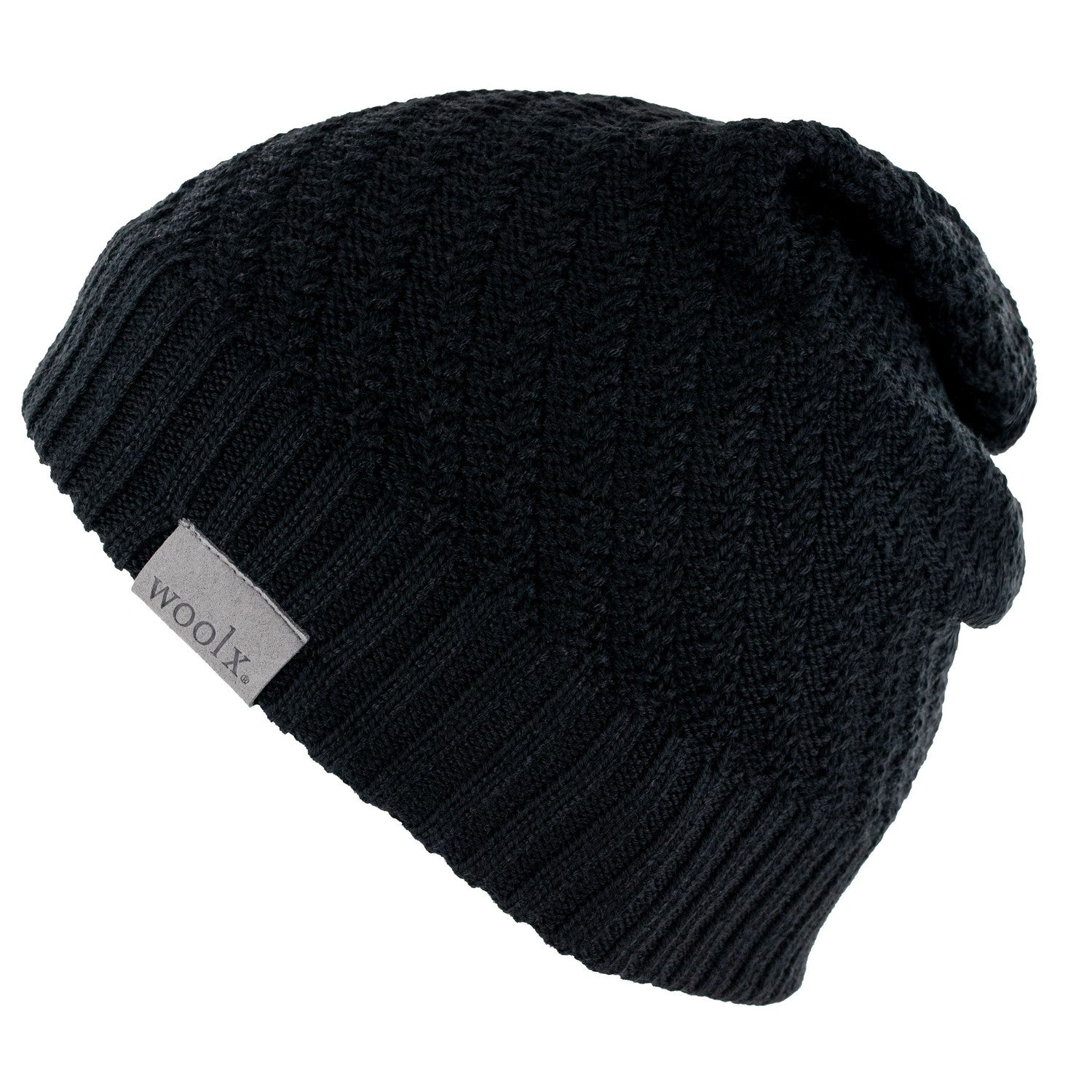 Women's Merino Wool Hat - Black
