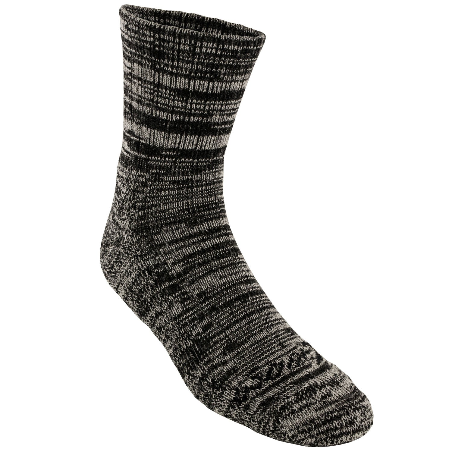Unisex Merino Wool Socks - Black Melange