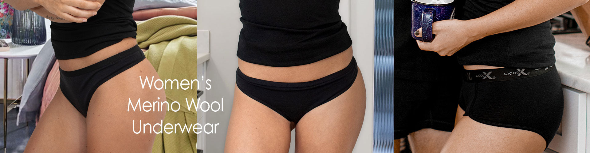 Womens Merino Wool Underwear