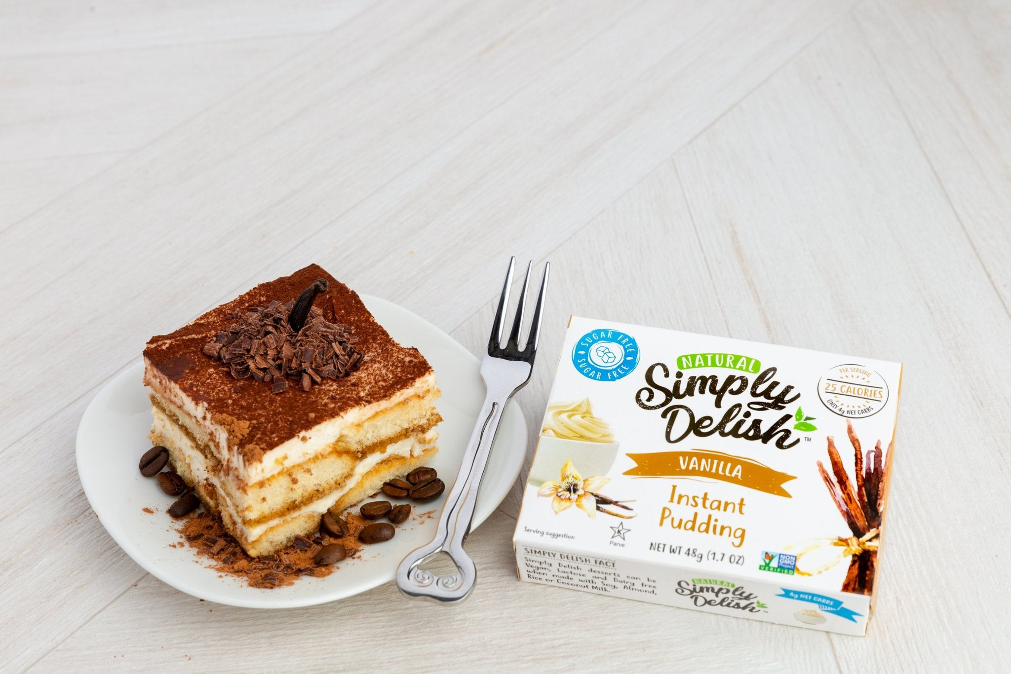 Sugar Free Puddings by Simply Delish