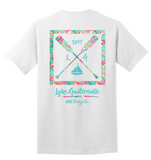 Lake Guntersville Paddle Shirt- Flamingo Pattern