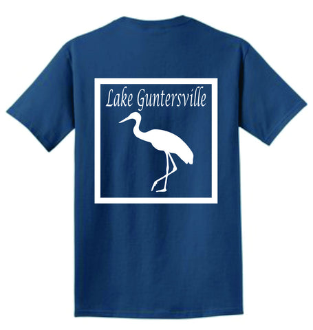 Short Sleeve - Lake Guntersville Crane Shirt