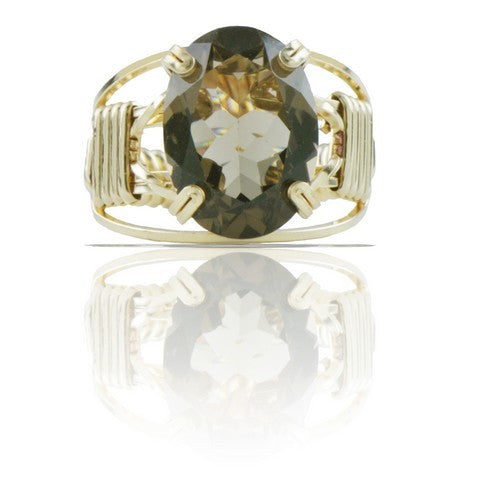 Ronaldo Designer Jewelry - Smokey Quartz Gemstone Ring