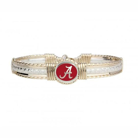 Ronaldo Designer Jewelry - The Go Bracelet - Alabama Crimson Tide