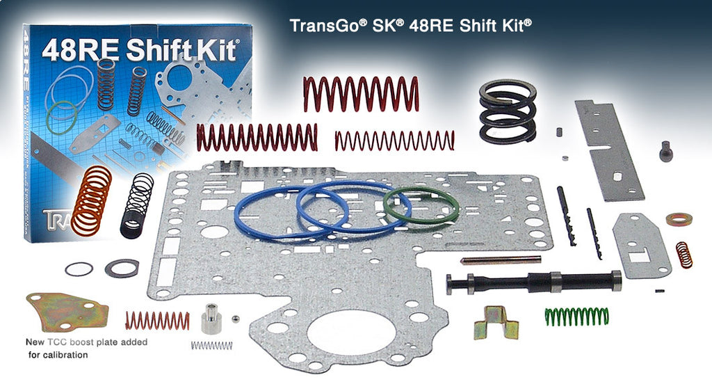 48RE SHIFT KIT fits 2003-2008 48RE Diesel and 2003 V10.