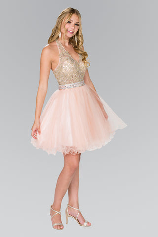 short tulle homecoming dress