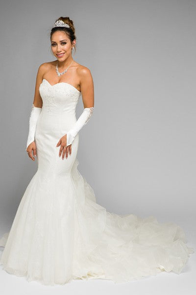 inexpensive mermaid wedding dress- simply fab dress