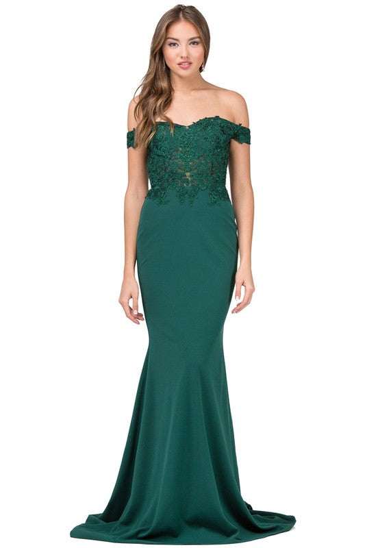 emerald and red prom dresses