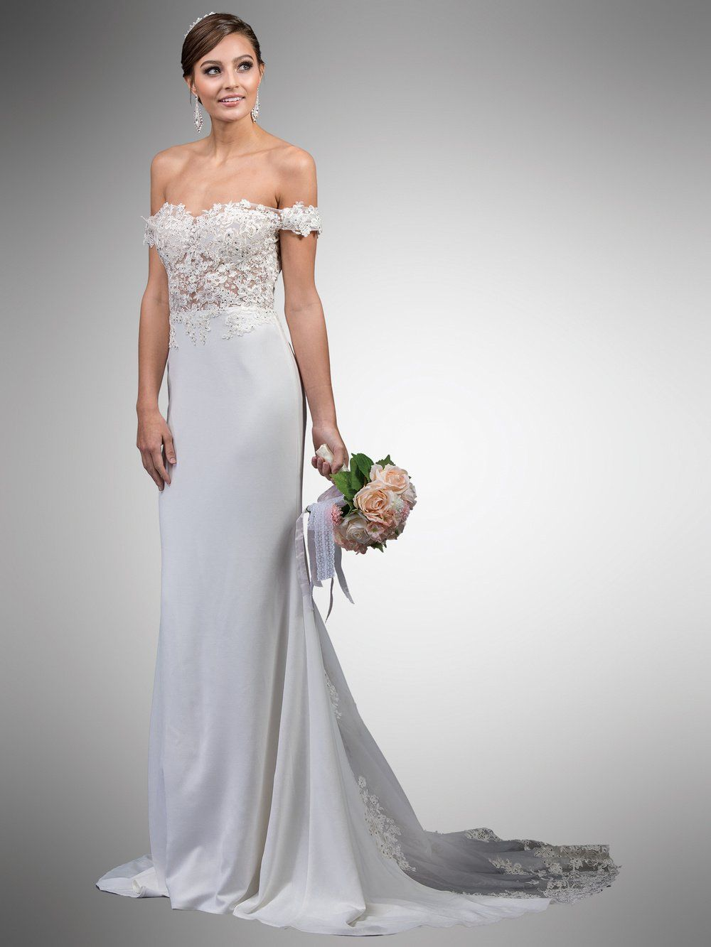 Sexy beach wedding dress dq0049-Simply Fab Dress